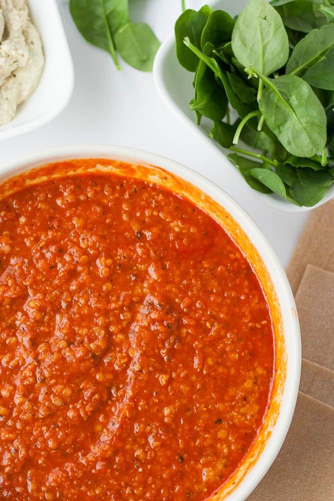 The Best Vegan Lasagna Nora Cooks