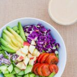 Lemon Maple Tahini Dressing