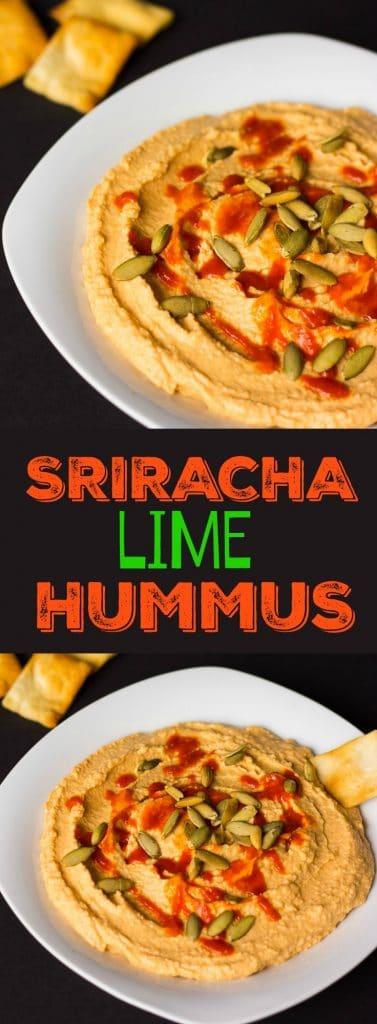 Sriracha Lime Hummus- Oil-free!