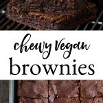 Chewy Vegan Brownies PIN