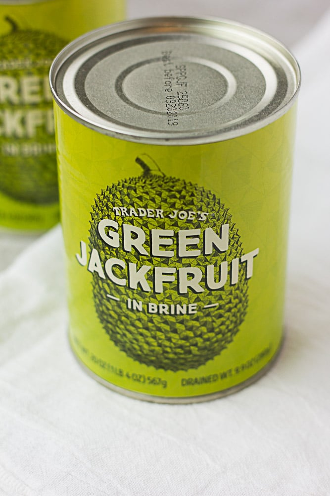can of trader joes jackfruit