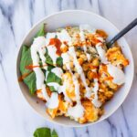 Buffalo Cauliflower Buddha Bowl