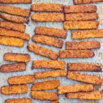 Smoky Baked Tempeh Bacon