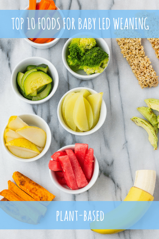 Top 10 Foods For Plant Based Baby Led Weaning Nora Cooks