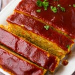 Vegan Meatloaf (with Chickpeas)