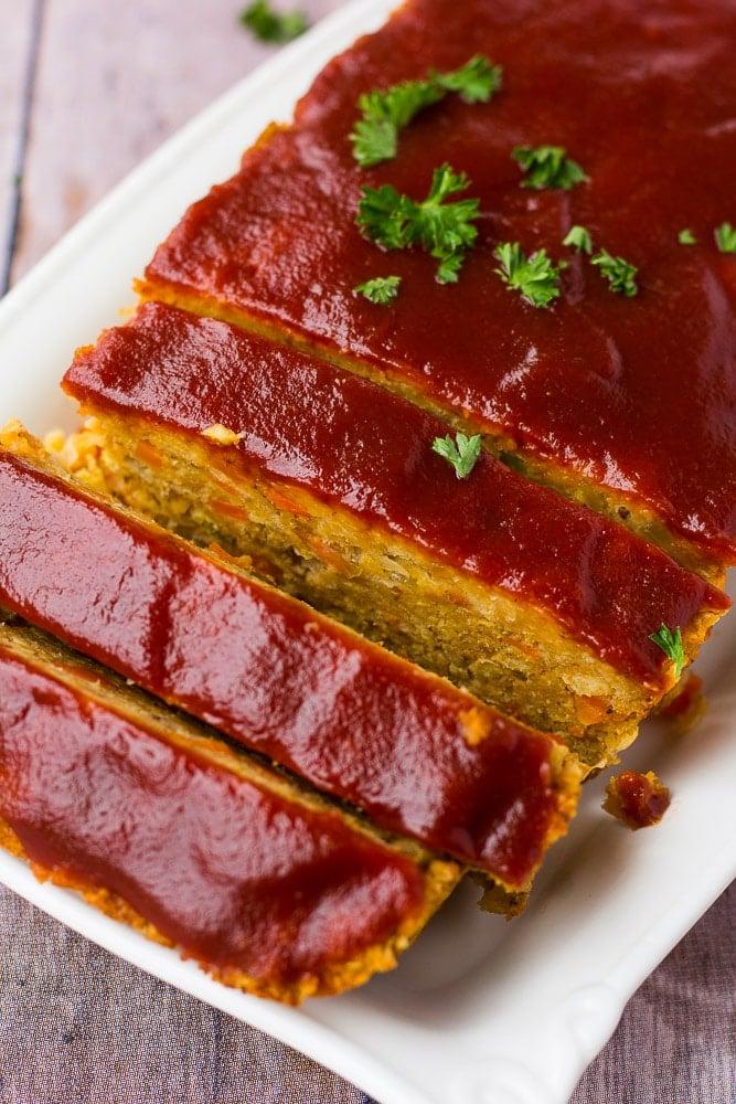 The Best Vegan Meatloaf Nora Cooks