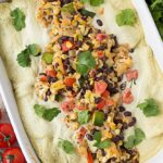 Vegan Sour Cream Enchiladas