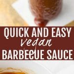 pinterest collage of barbecue sauce