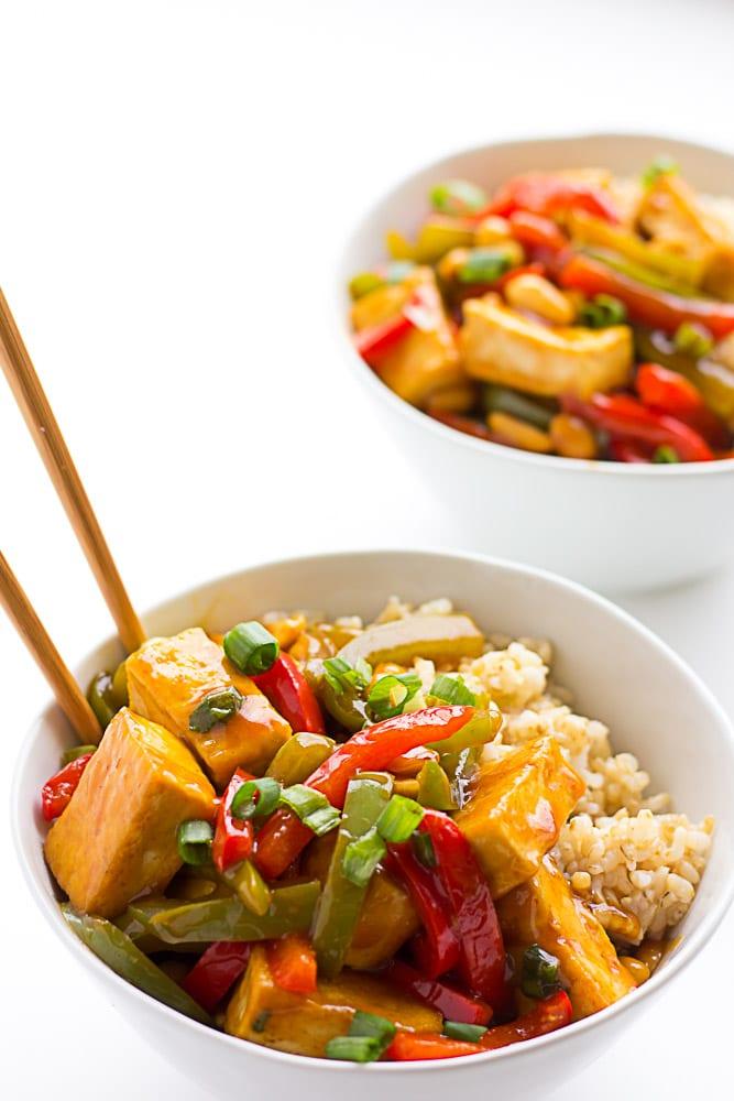Easy Kung Pao Tofu Nora Cooks