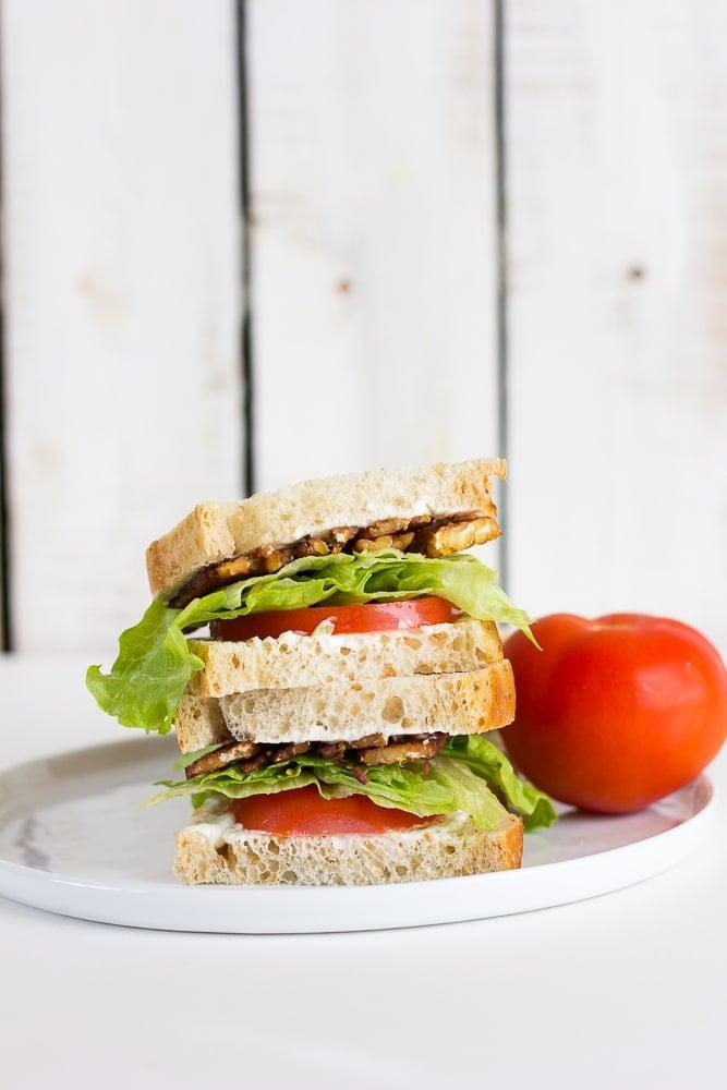 Vegan BLT Sandwich