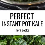 pinterest collage instant pot kale