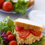 The Best and Easiest Chickpea Tuna Salad Sandwiches