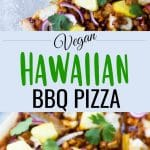 vegan pizza pinterest collage