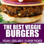 pinterest collage veggie burger recipe