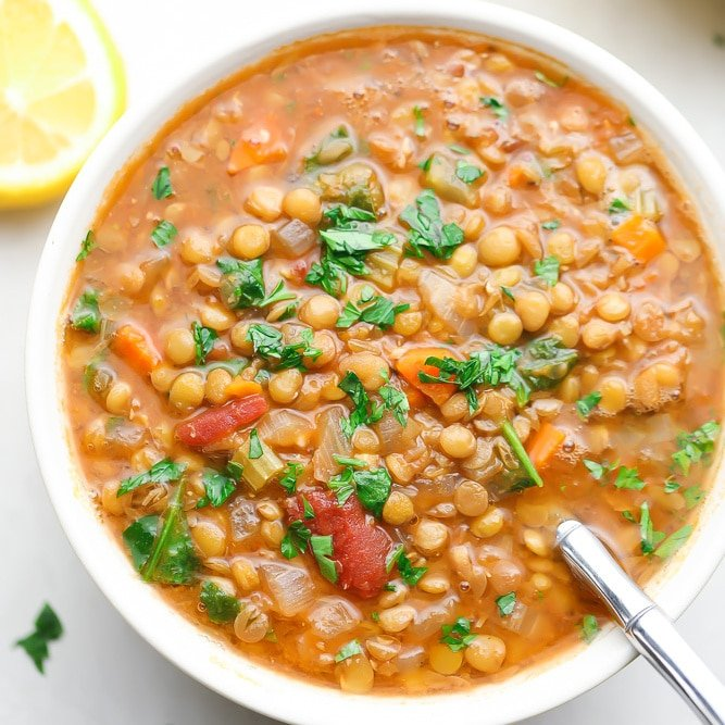 The Best Lentil Soup Nora Cooks