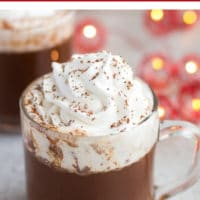 pinterest collage vegan hot chocolate