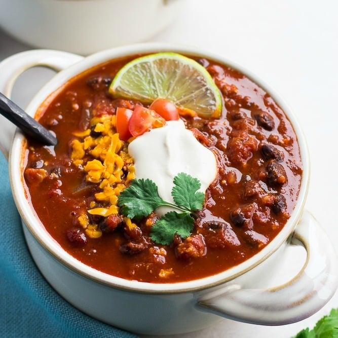 Ultimate Vegan Chili Nora Cooks