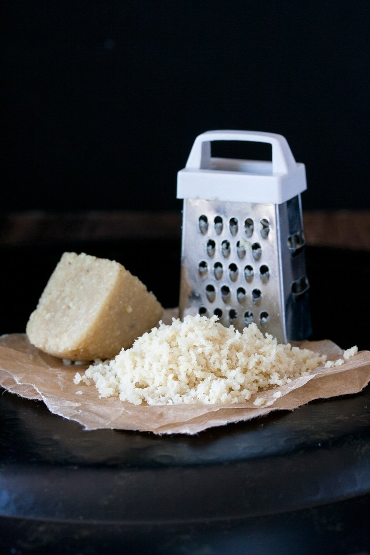 grateable parmesan vegan