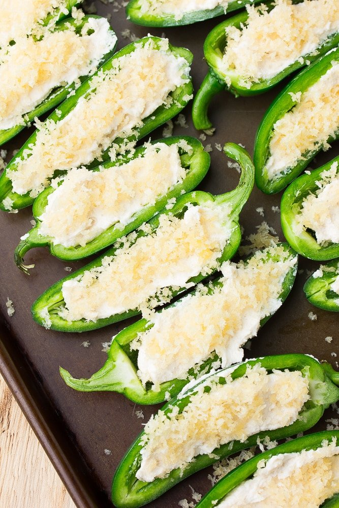 uncooked jalapeno poppers stuffed