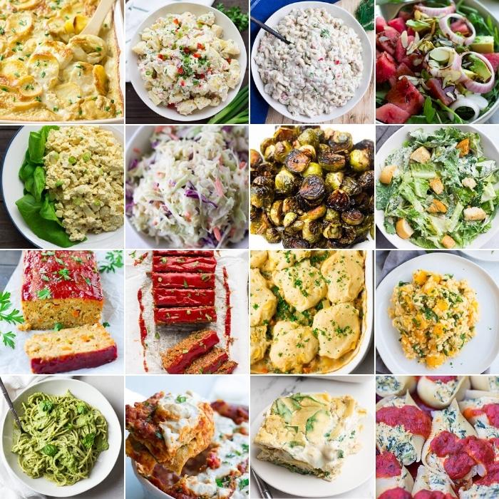 dinner collage for easter