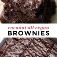 Coconut Oil Brownies Nora Cooks