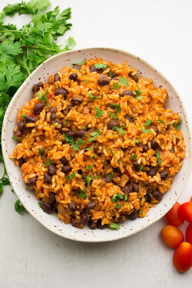 Spanish Rice And Beans Mexican Rice Nora Cooks