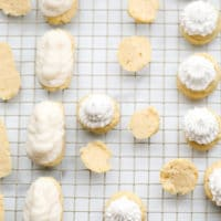 pinterest image with text box for choux pastry